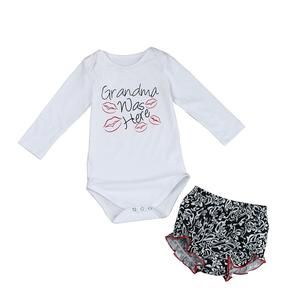 Baby Outfits 2Pcs Infant Toddler Baby Girls Rabbit Print Tops Coat+Pants Clothes Set 6-24 Months