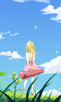 Anime Your Lie In April Mobile Wallpaper Anime Animes Manga