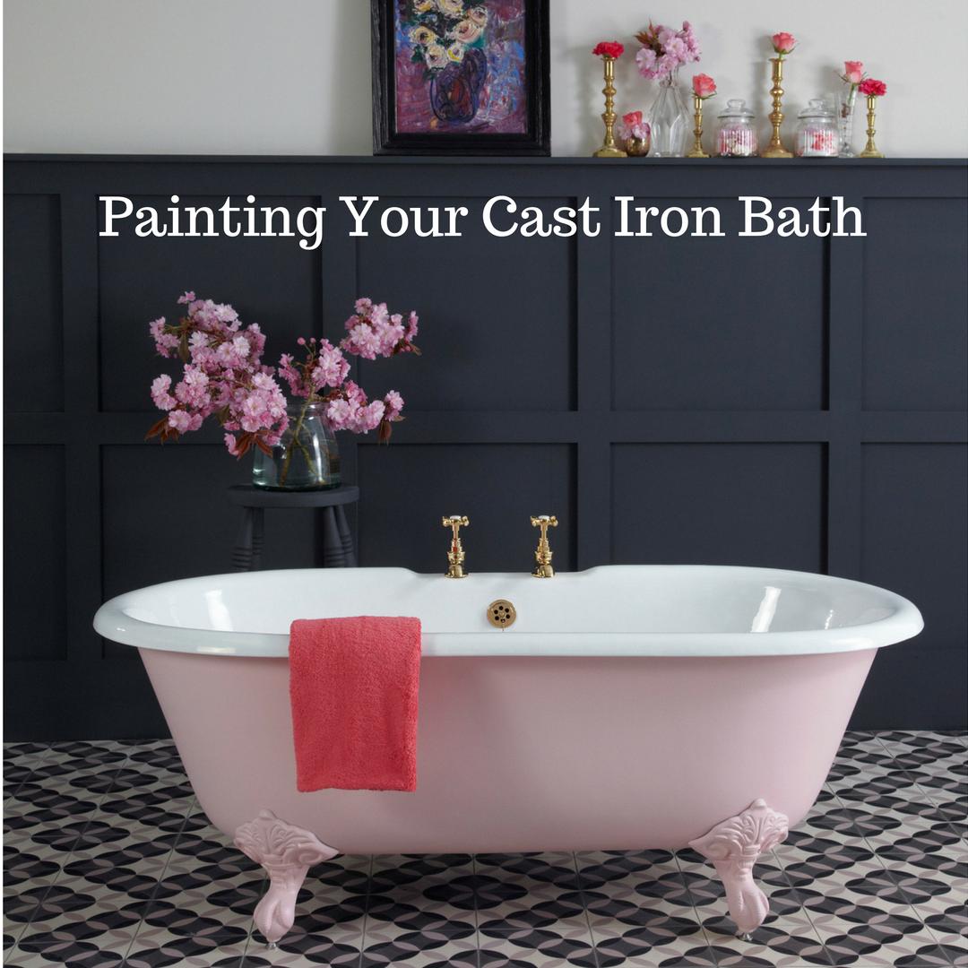 Painting Your Cast Iron Bath   Cast Iron Bath Company