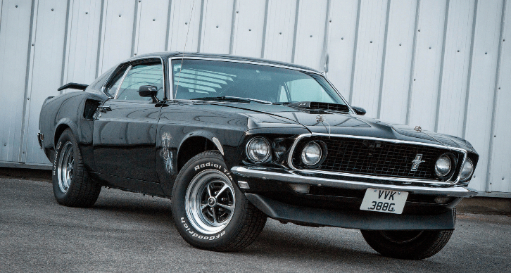 Original R Code 1969 Ford Mustang With Immaculate Overall