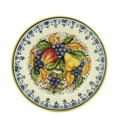 FRUTTA: Medium wall plate/platter (16D.) | painting stuff | Pinterest