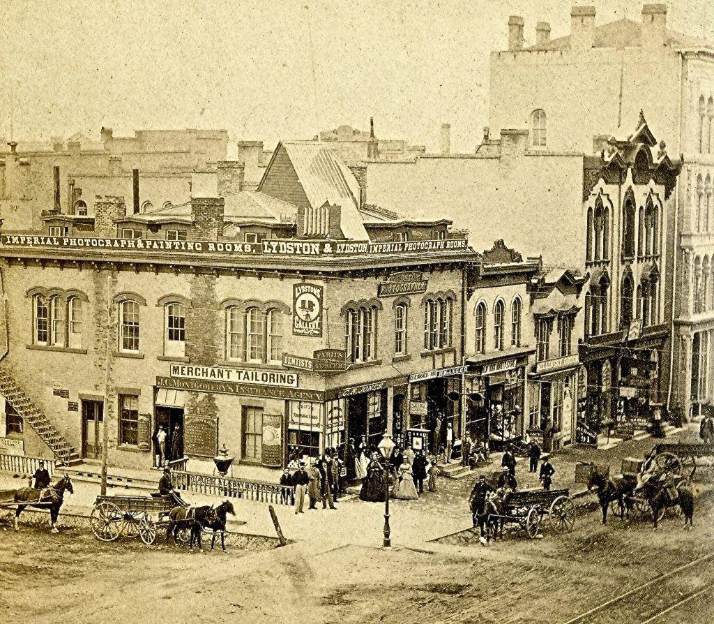 Yesterday S Milwaukee Wisconsin And Broadway 1867 Milwaukee Wi
