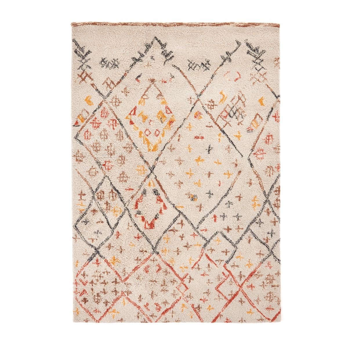 Tapis Style Berbere En Laine Ashwin Taille 120x180 Cm 160x230 Cm 200x290 Cm Tapis Style Berbere Tapis Laine Et Tapis