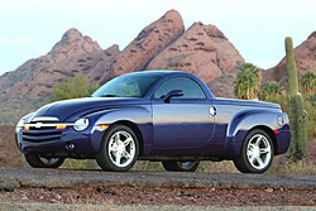 Nissan Suv And Crossover Vehicle Overview Chevrolet Ssr