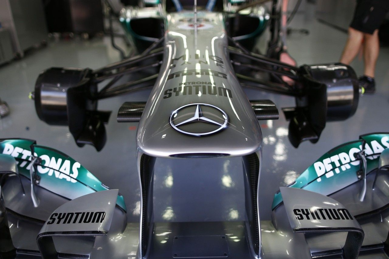 Formel 1 - MERCEDES AMG PETRONAS, Großer Preis von Korea. 04.-06.10.2013.