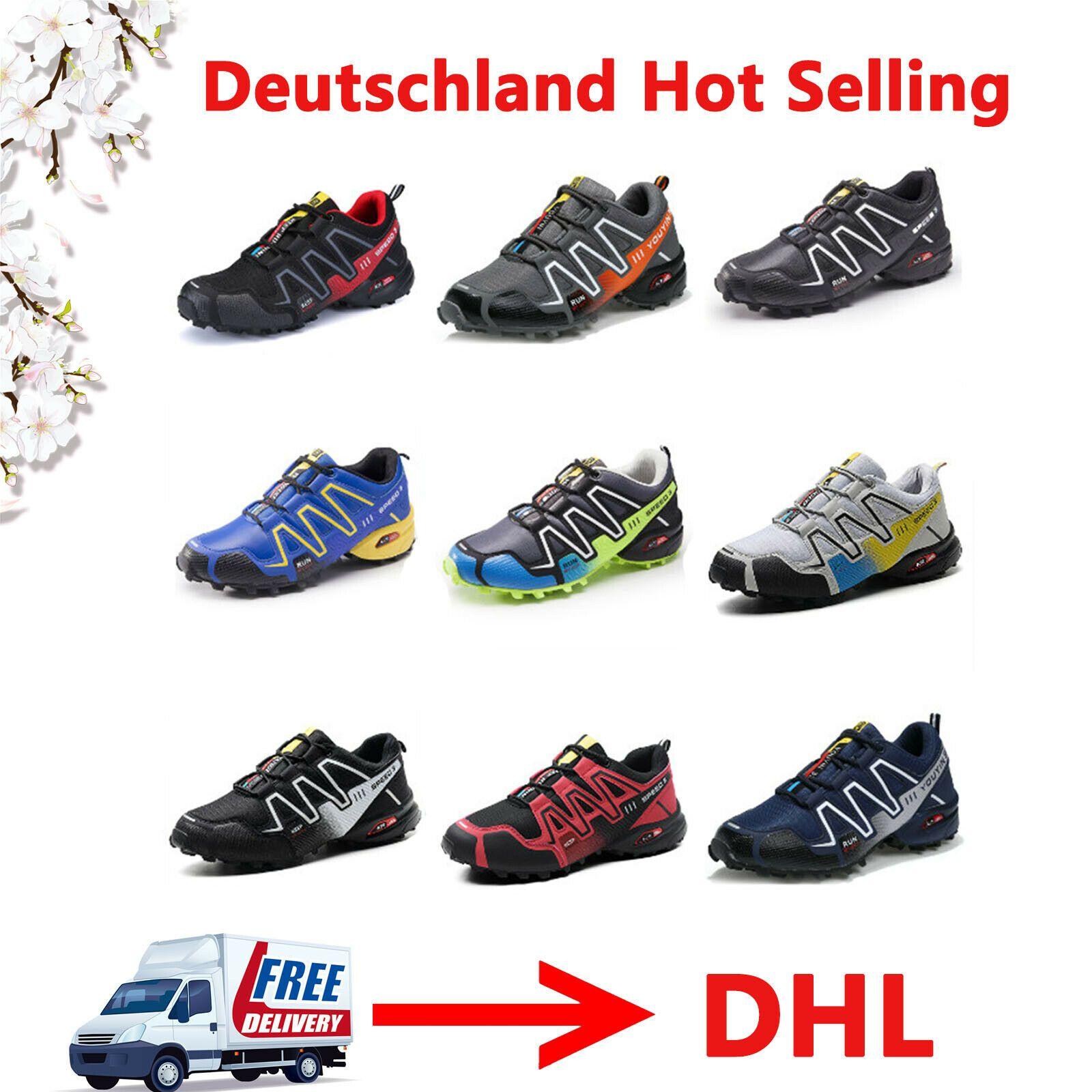 sports shoes 4aa93 e0f1a Herren Damen Freizeit Speedcross Outdoorschuhe Laufschuhe ...