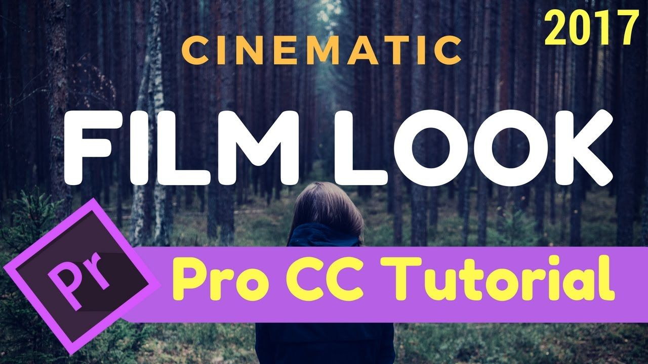 How to Achieve a Film Look In Premiere Pro - Tutorial… | Filmmaking