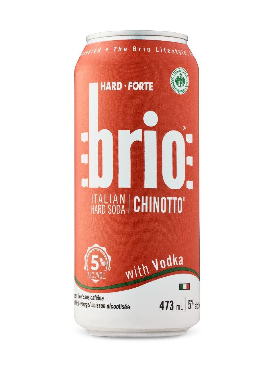 Brio Hard Soda With Vodka Hard Soda Vodka Soda