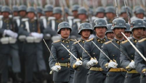 """""""Прусский дух"""" военного парада в Чили"""