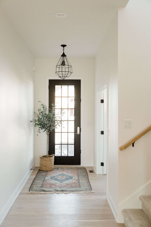 Neutral entryway in 2020 Home, Home interior design