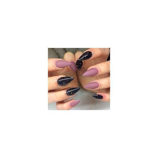 Stiletto Nails ❤ liked on Polyvore featuring beauty products, nail care, nail treatments and nail art