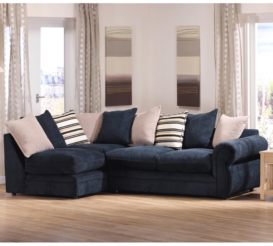 comfy corner sofa ideal but i d want