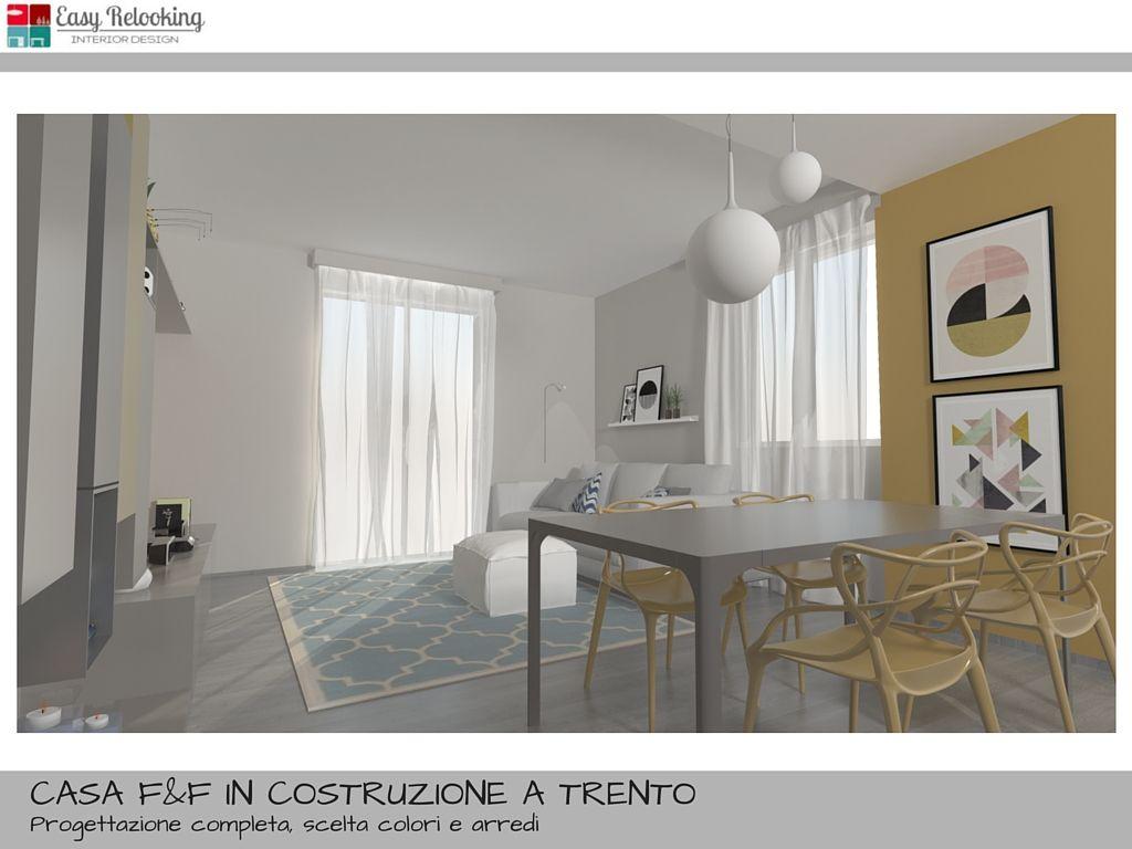 Dal progetto di arredamento d 39 interni per una giovane for Arredare loft open space