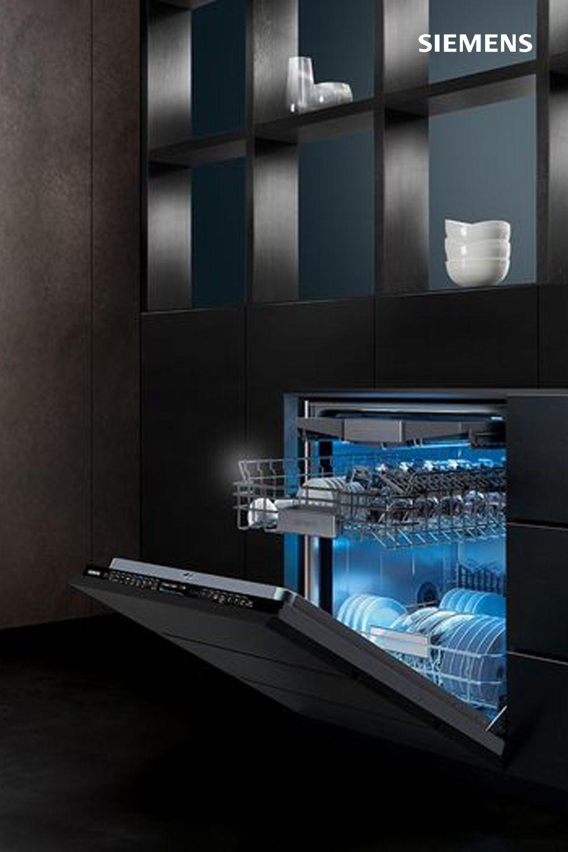 Le Lave Vaisselle Tout Integrable Siemens Allie Design Et Connectivite Un Lavage Efficace Et Maintenant S Lave Vaisselle Vaisselle Lave Vaisselle Encastrable