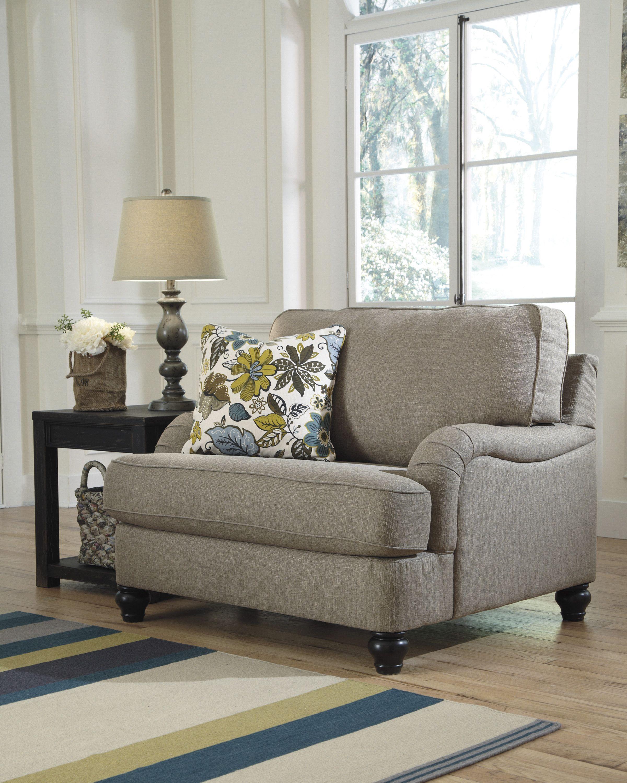 Hariston Chair & A Half Furniture, Ashley furniture