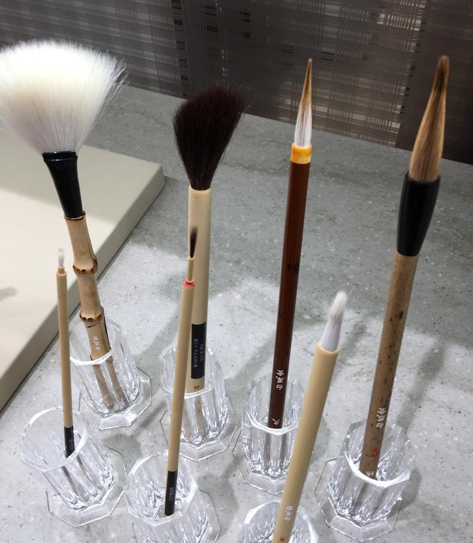 #hakuhodo painting brush