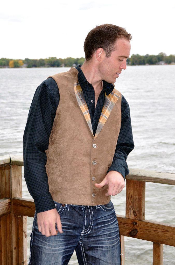 Brown Suede Vest | Rare Dirndl  - www.raredirndl.com to shop this look