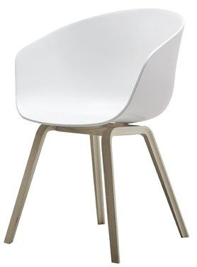 Hay Stuhl About A Chair Aac22 Weiss Von Amazon Weisse Stuhle Stuhl Eiche Stuhl Design