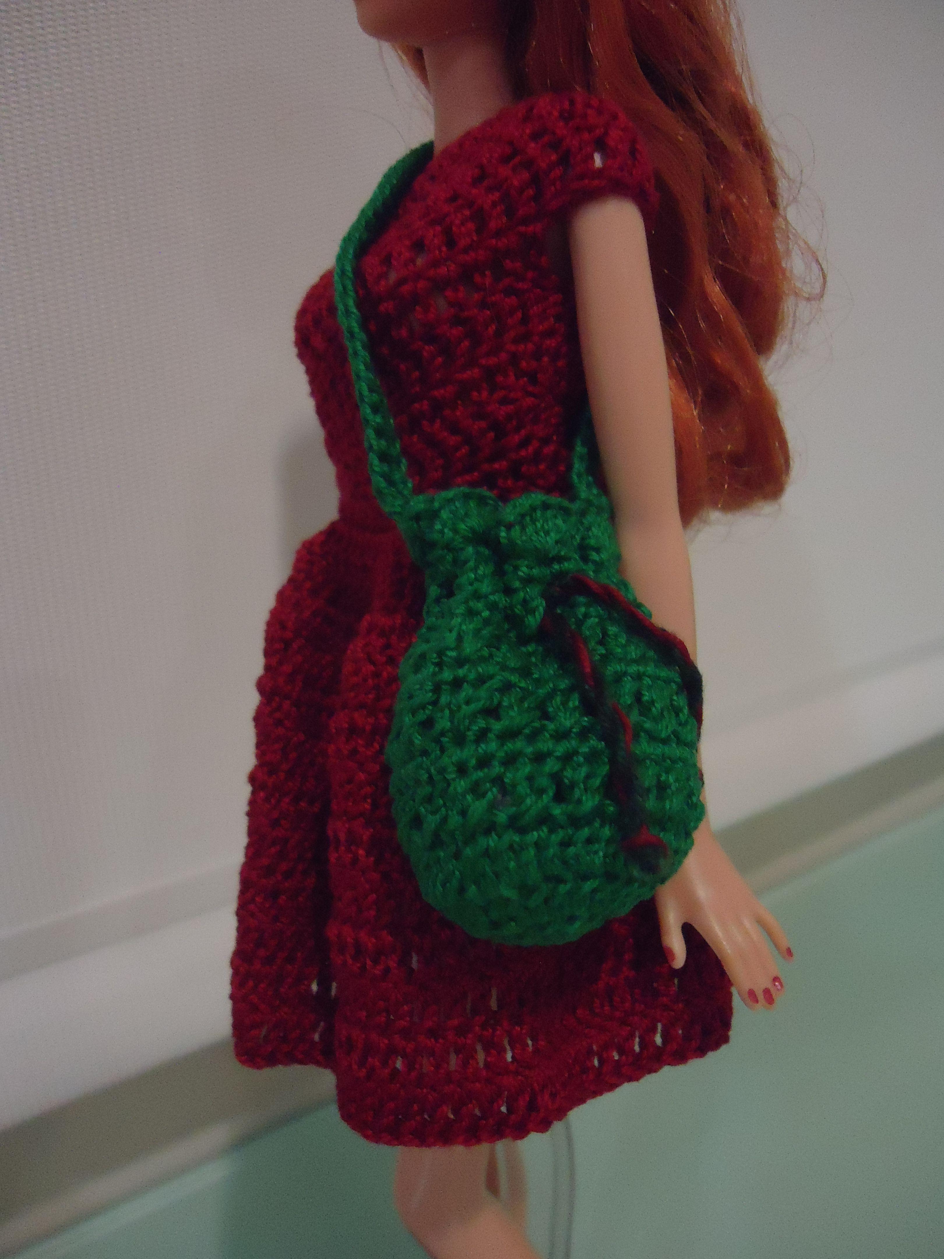 Barbie Bikini Drawstring Bag (Free Crochet Pattern) | Mädchenkram ...