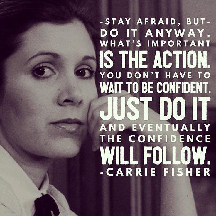 """Girl Scouts on Twitter: """"To the damsel who took the lead on her own distress, here's to you Carrie Fisher. Image via @smrtgrls https://t.co/3QwmWWN0dR"""""""