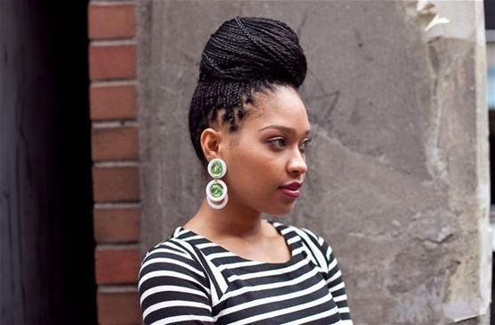 Admirable 1000 Images About Box Braids On Pinterest Ghana Braids Goddess Short Hairstyles Gunalazisus
