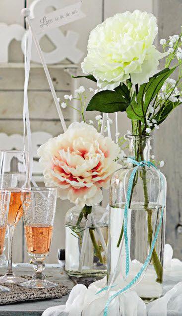 Viele schöne Deko-Artikel für Deinen perfekten Hochzeitstisch findest Du im DEPOT Onlineshop. #Hochzeitsdeko