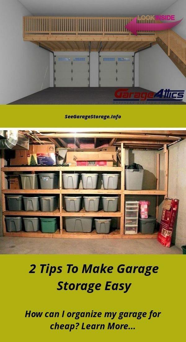 Garage Storage Systems On A Budget Cheap Ideas