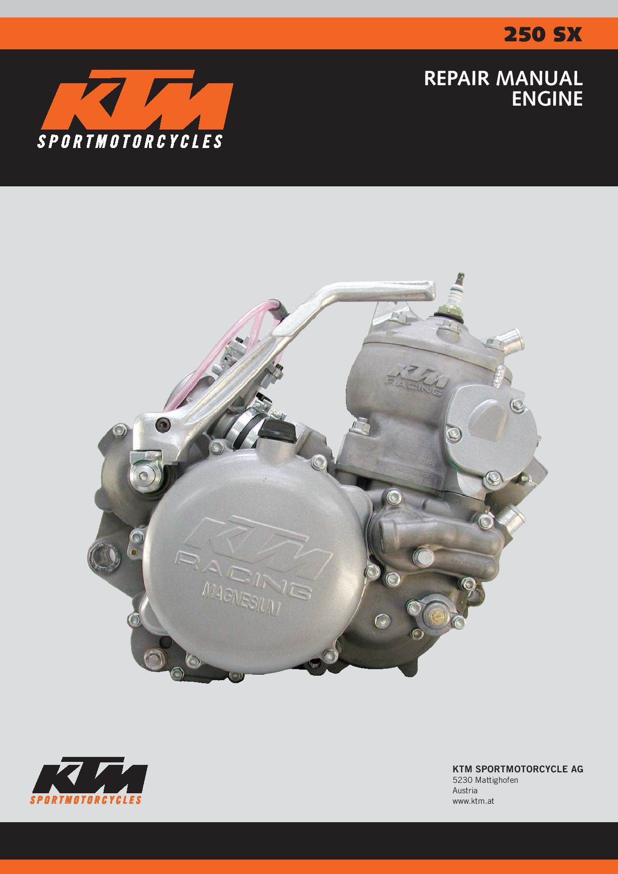 Ktm 250 Sx 2003 Repair Manual Pdf Download