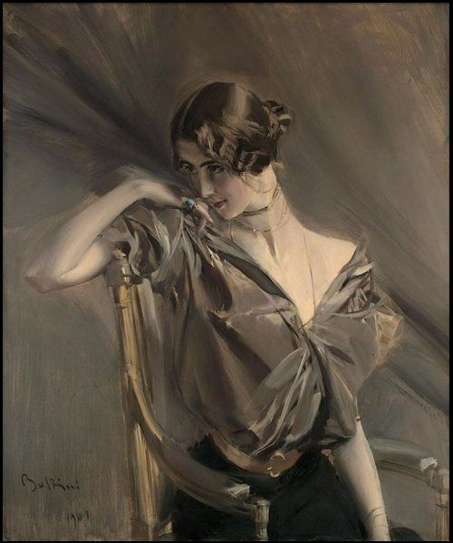 cleo de merode (giovanni boldini, 1911)