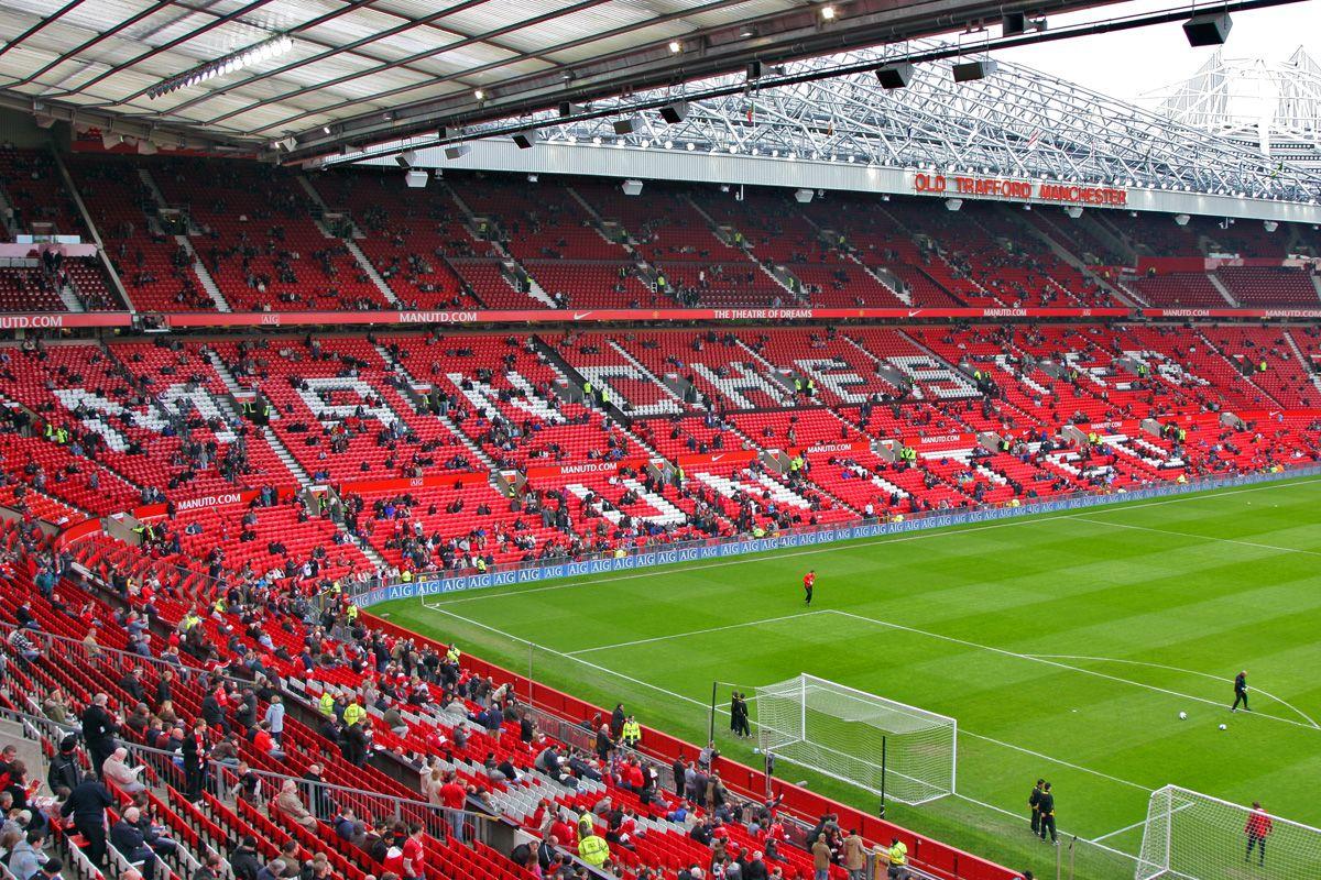 Dream Come True Old Trafford Manchester United Old Trafford Manchester United Art