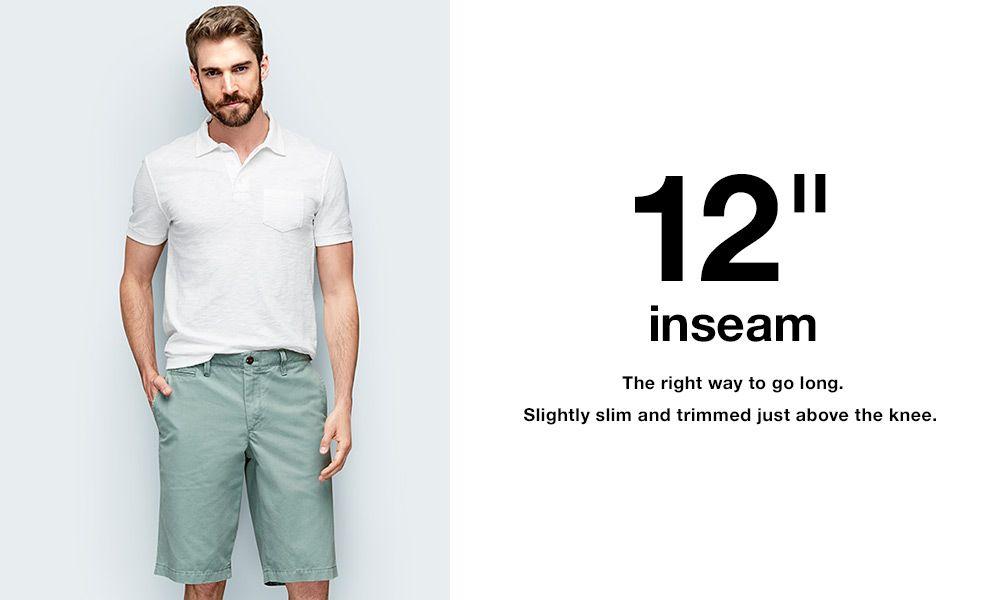inseam length callout on Gap.com