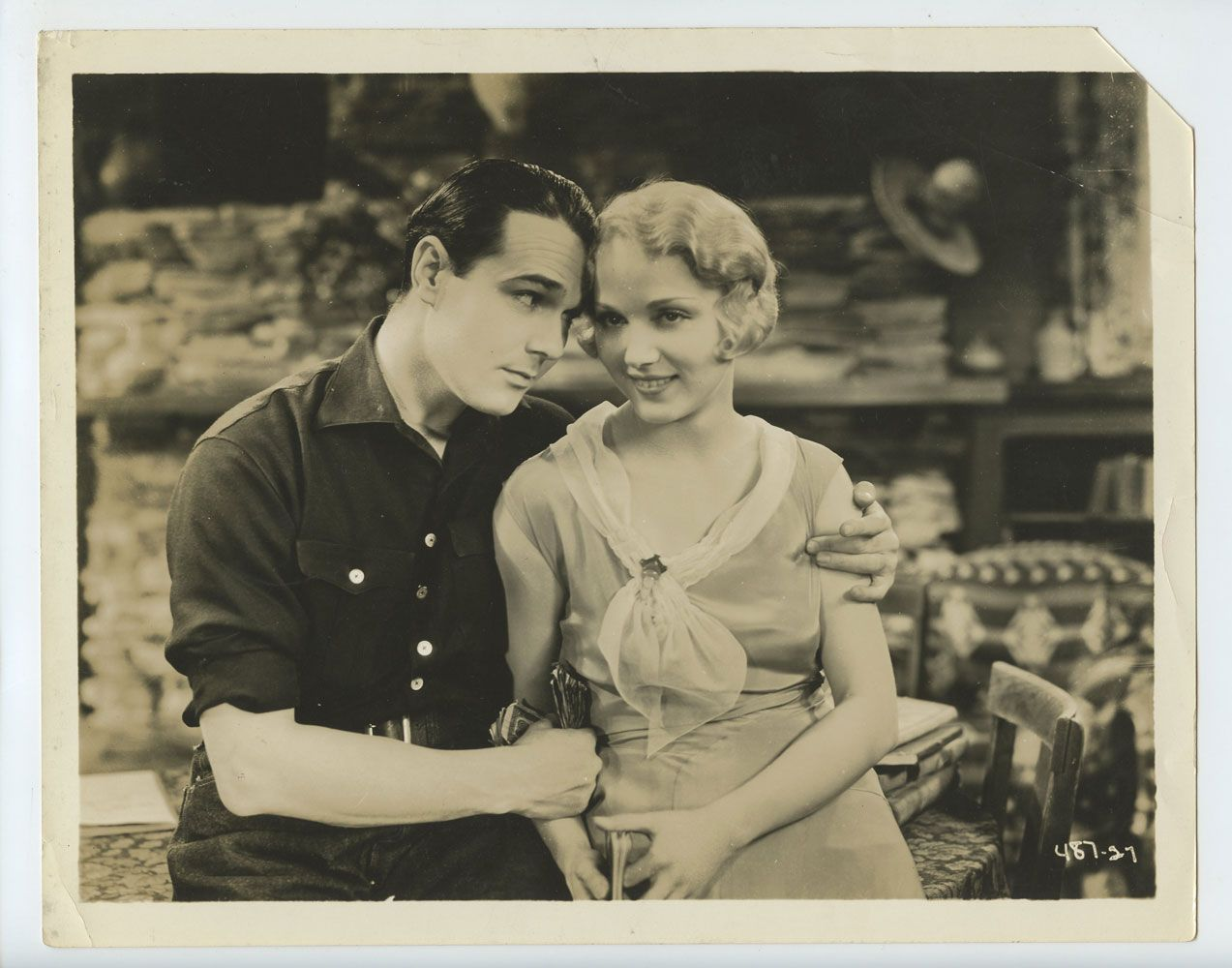 Leila Hyams William Haines Photo 1930 Way Out West Leila