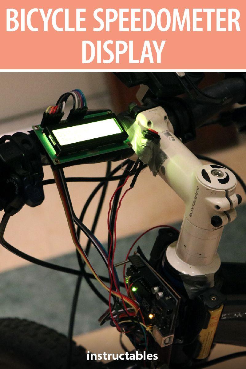 Bicycle Speedometer Display With Images Bicycle Speedometer