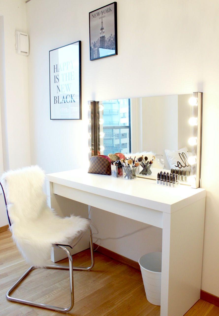 img 0894 schminkplatz pinterest schminktisch malm schminktisch und ankleiderzimmer. Black Bedroom Furniture Sets. Home Design Ideas
