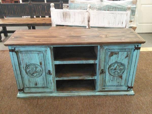 Turquoise Flush Base Cabinet 2 Doors 60 Long 30 High 18