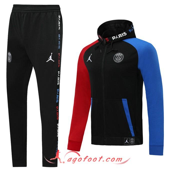 Veste PSG X Jordan NoirBleuRouge Saison 20192020