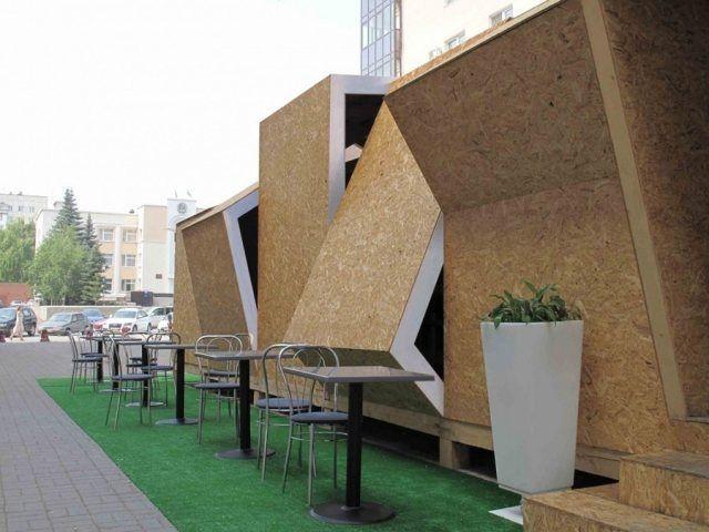 Superb Café Temporaire Et Pas Cher Pour DarkDesignGroup | Cafes, Architecture And  Pavilion