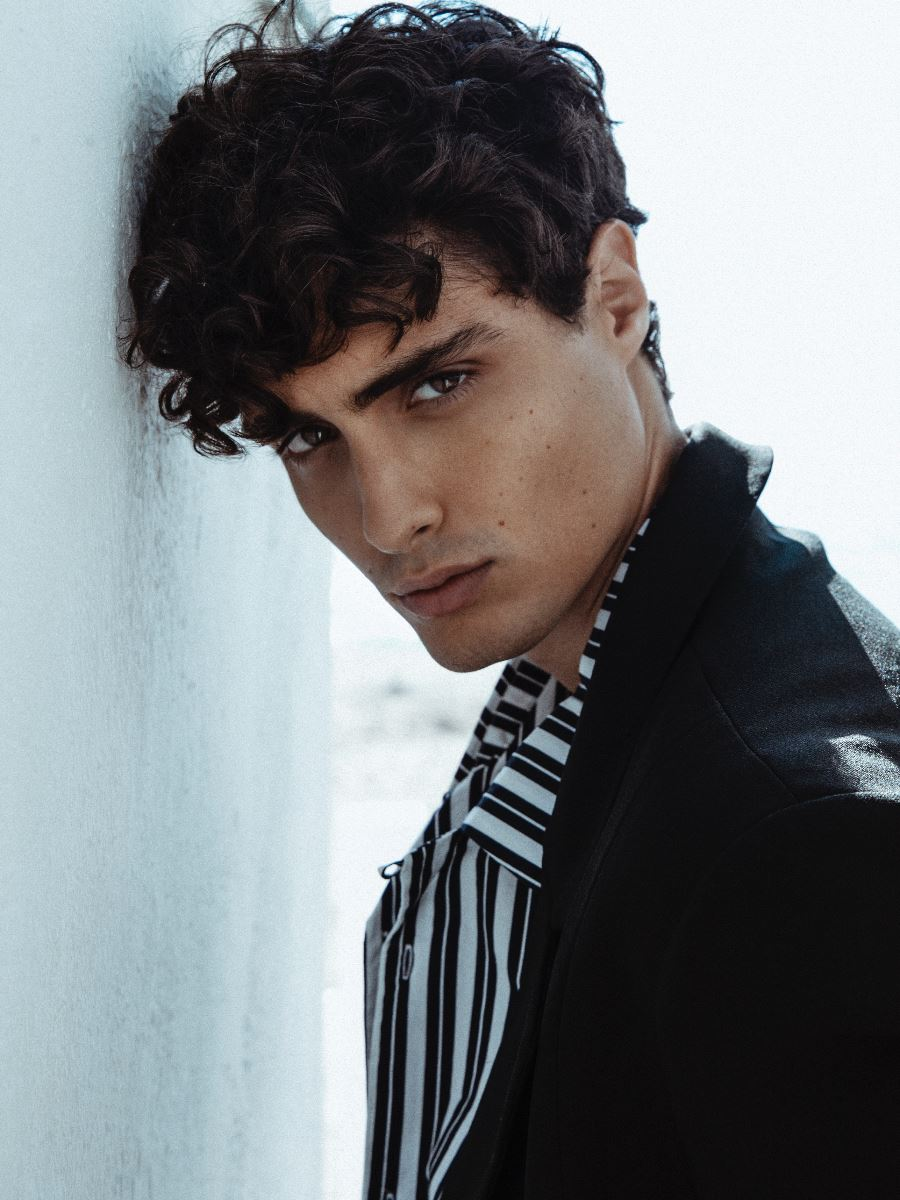 Brave Models Josh Sorrentino In 2020 Male Model Face Model Face Brown Hair Brown Eyes