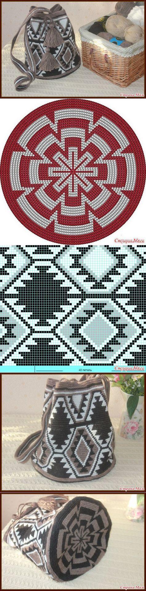 mochila bag crochet pattern fr   crochet   Pinterest   Selfmade