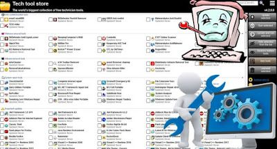 تحميل جميع البرامج و الادوات الضرورية لجهازك عبر برنامج tech tool