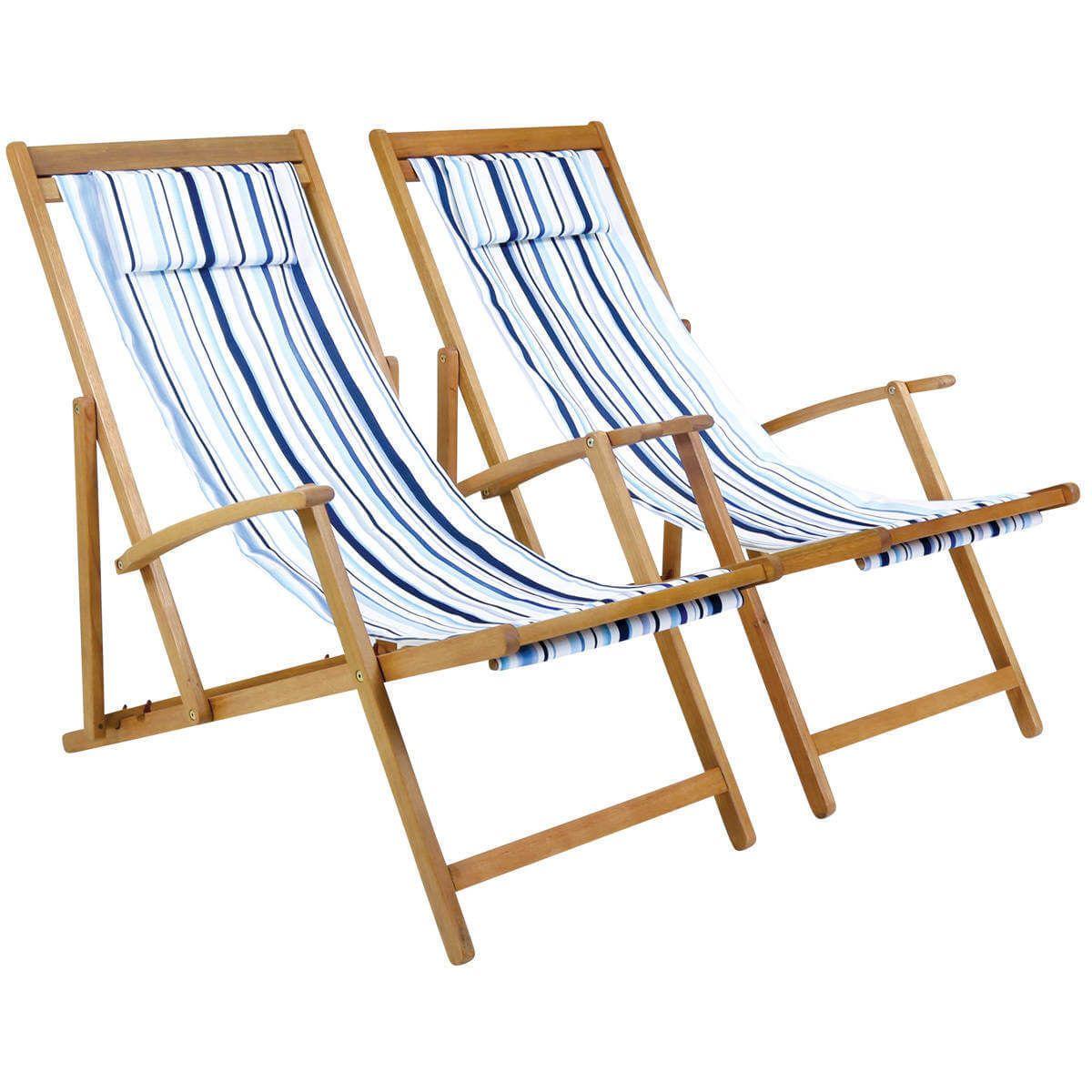 GLNTDC10PAIR-Charles-Bentley-National-Trust-Coastal-Deck-Chairs