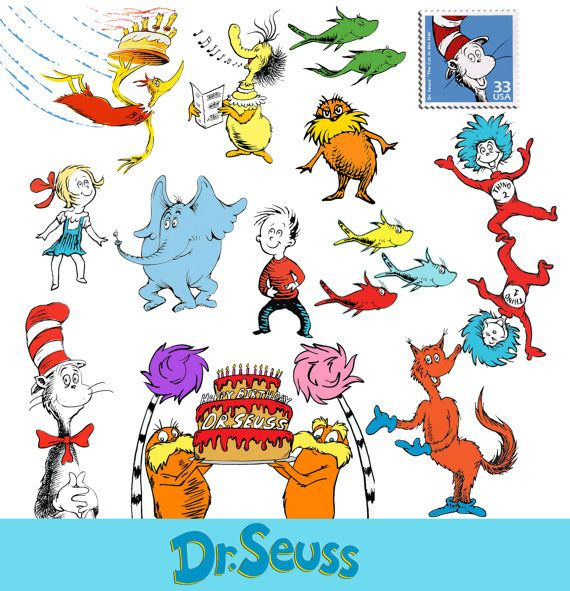 Cat In The Hat Clipart: Dr. Seuss Cat In The Hat Clipart PNG