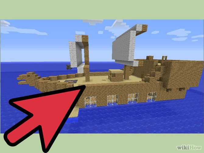 Make Cool Stuff in Minecraft   Small island, Pirate ships and ...