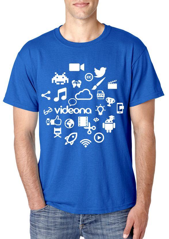 Camiseta chico #crowdfunding Videona app @Indiegogo_es http://kcy.me/1ahvm