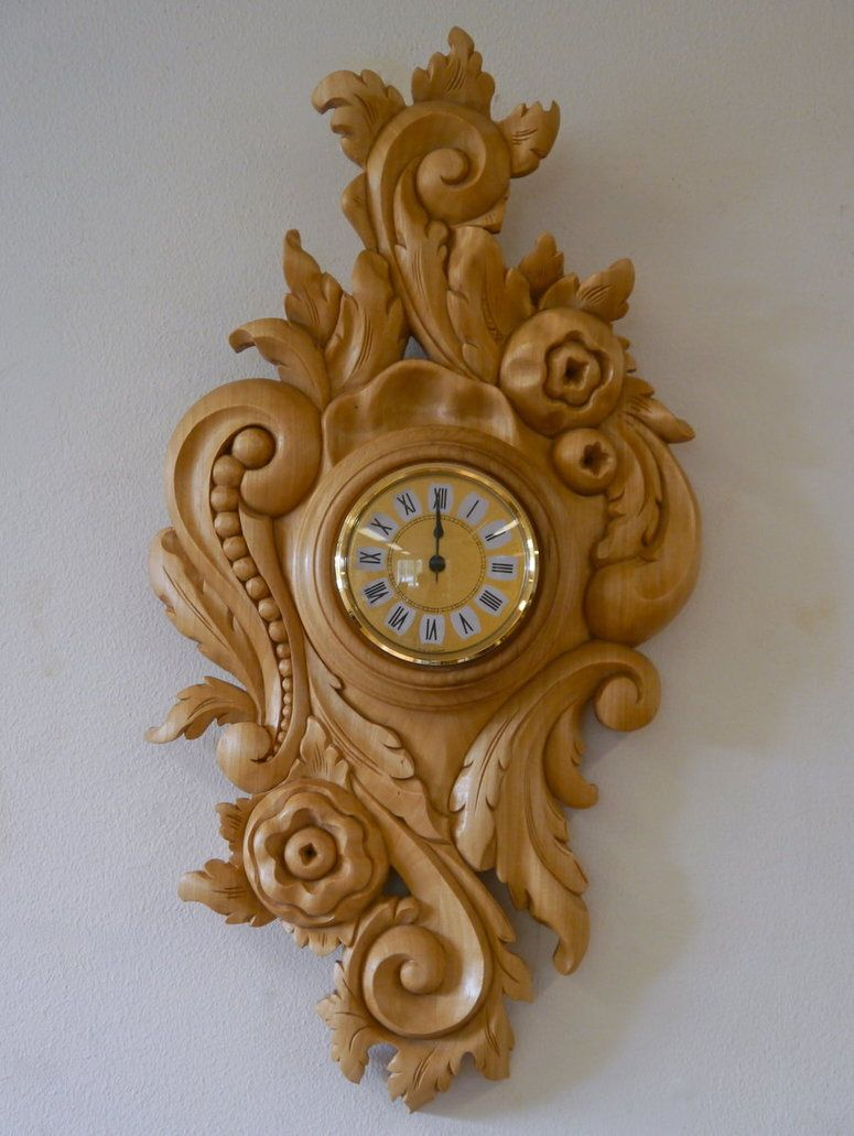 Rococo clock by lizzy pinterest