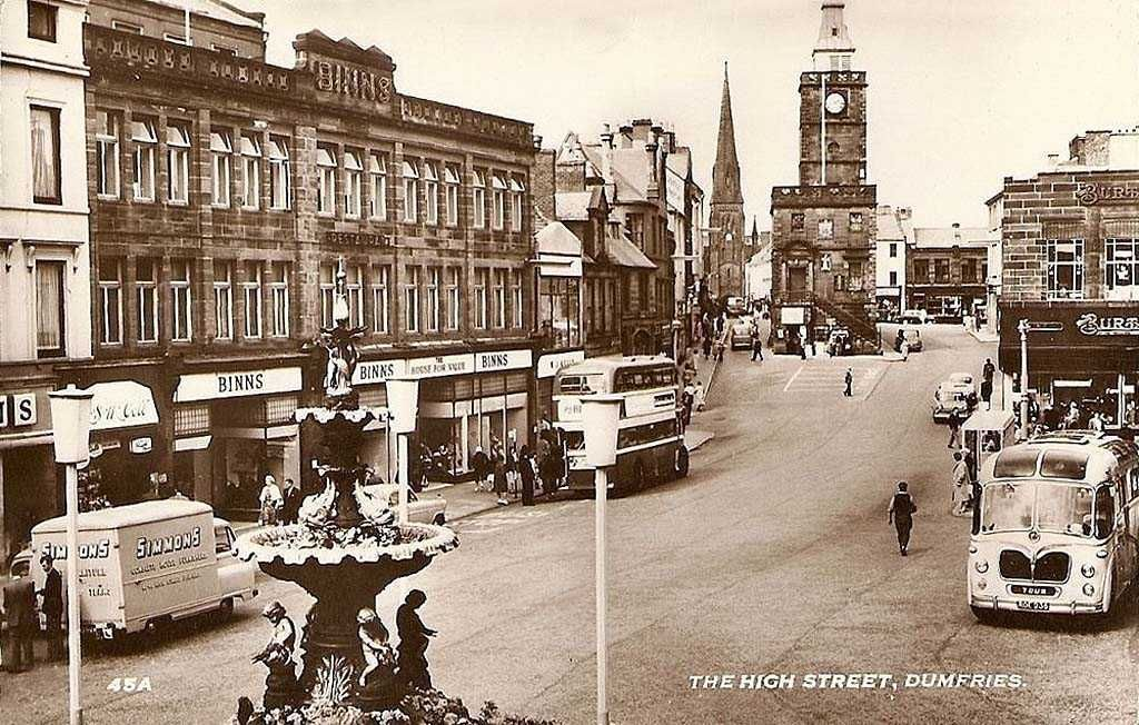 Image result for dumfries 1950
