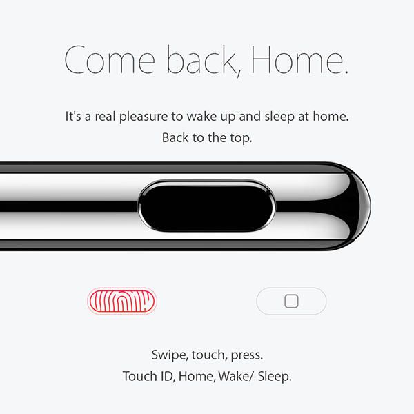 What If IPhone Doesnu0027t Have Home Button? Look At IPhone 7 Concept Design