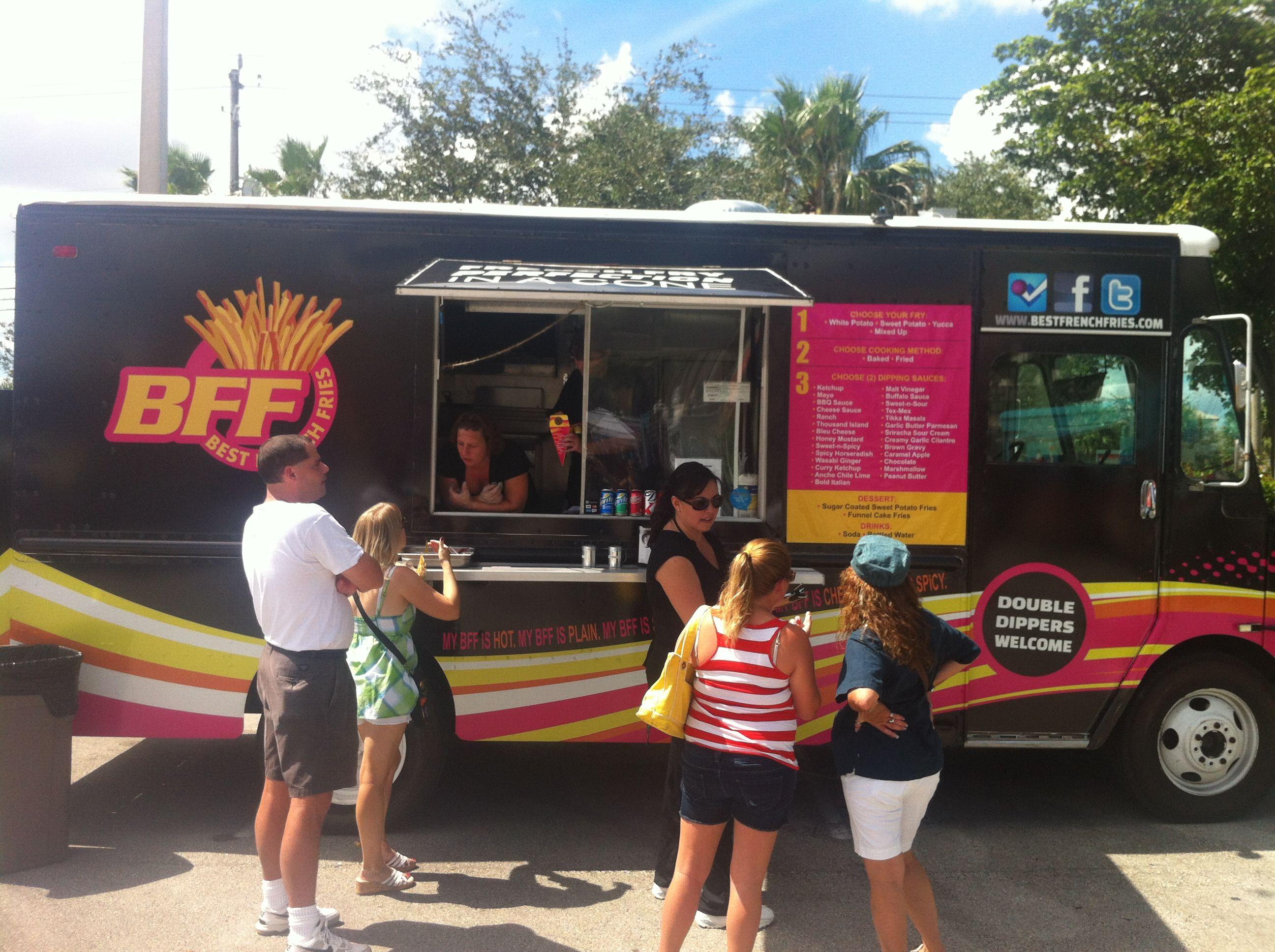 Food Trucks French Fries