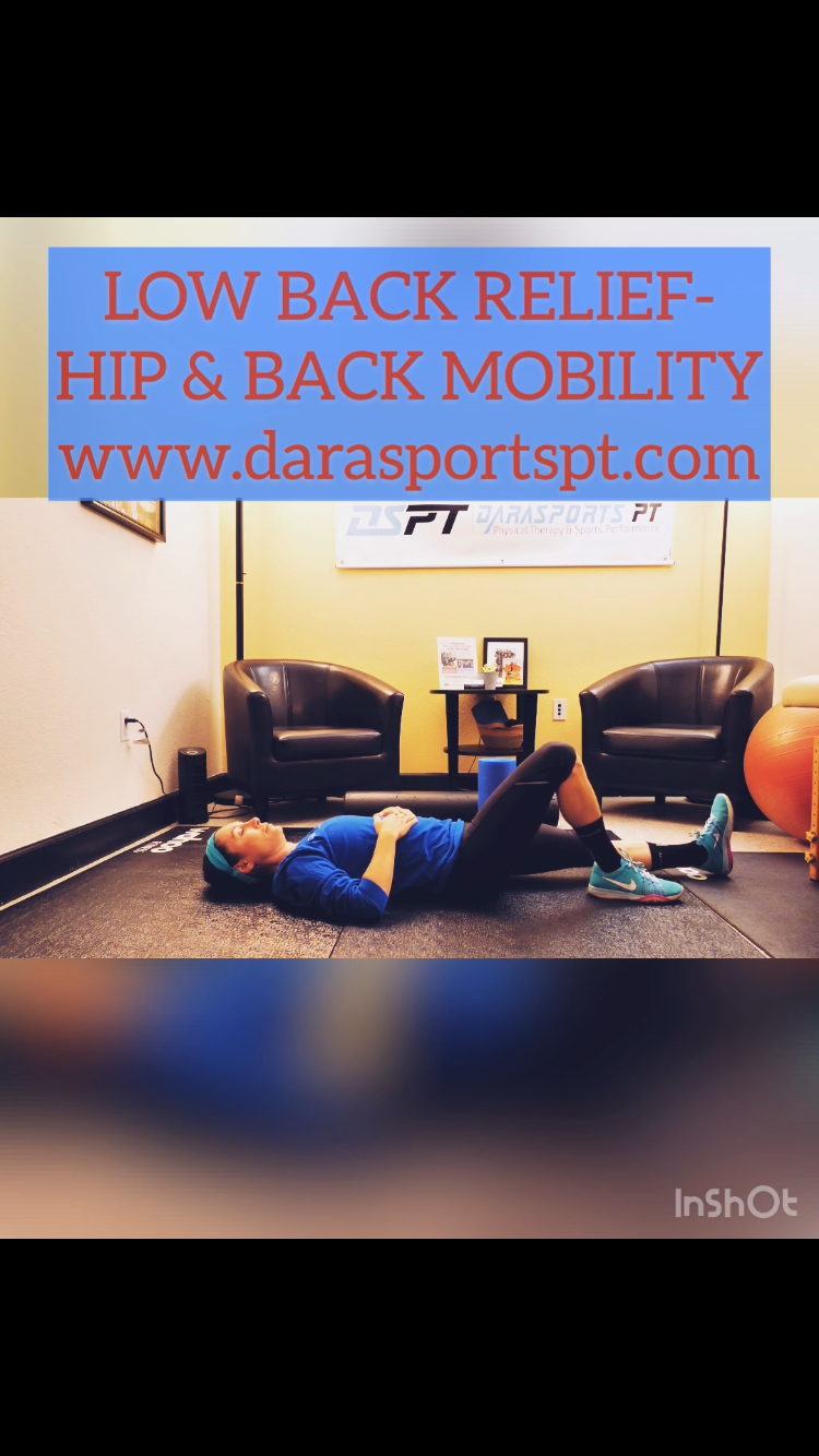 Low back relief Physical therapy, Online therapy, Sports