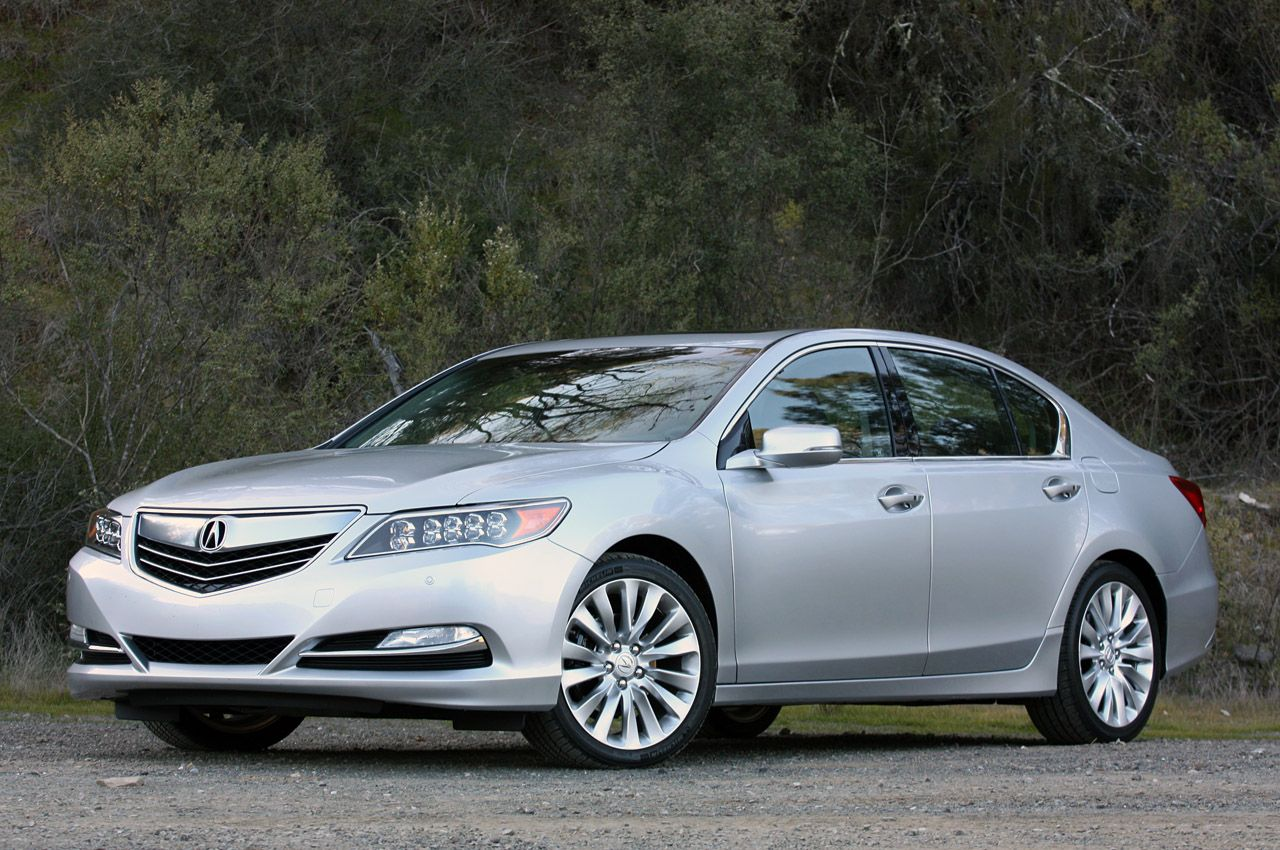 2014 Acura RLX   モデルカー